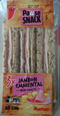 Pause Snack Jambon Emmental - Produit - fr