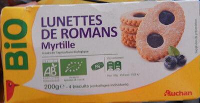 Lunettes de romans à la myrtille - Prodotto - fr