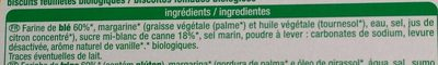 Palmiers - Ingredients