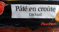 Pâté en croute Cocktail - Produit - fr