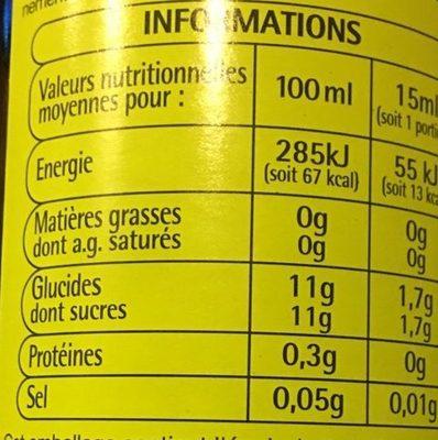Vinaigre balsamique auchan 50 cl - Vinaigre balsamique calorie ...