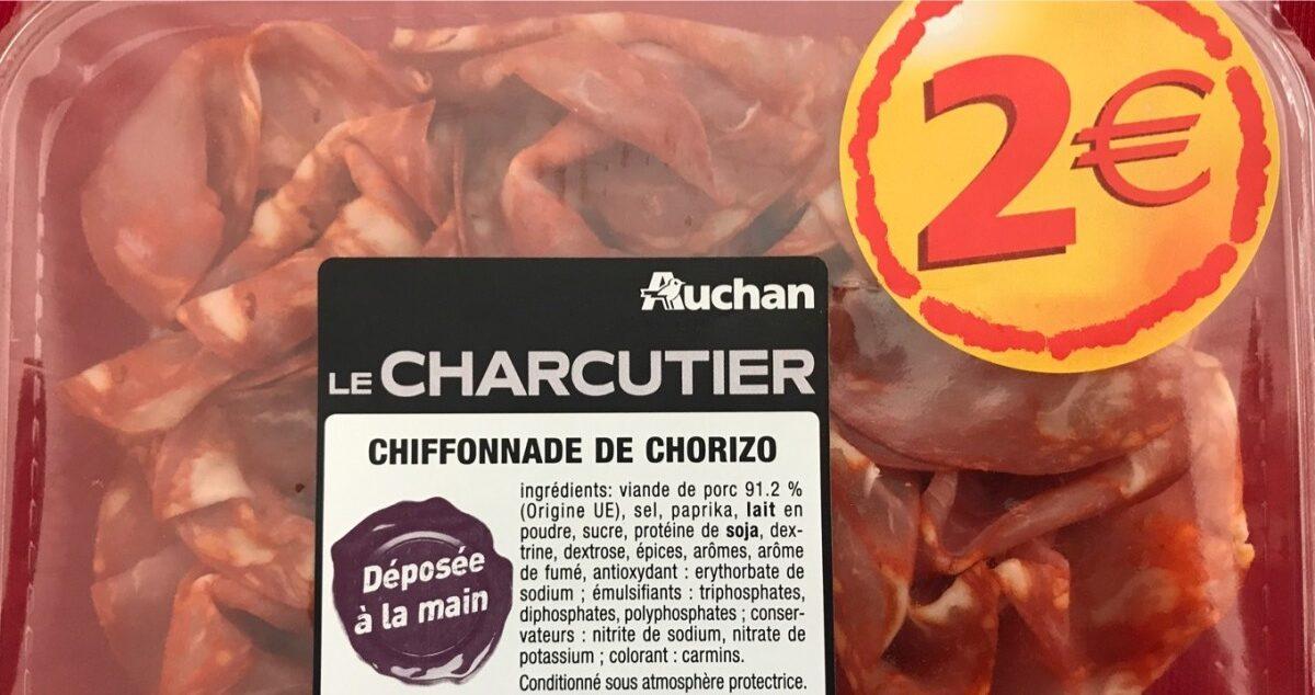 Chiffonade de chorizo - Produit - fr