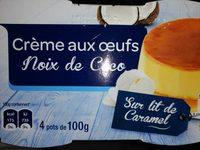 Crème aux œufs Noix de coco - Product