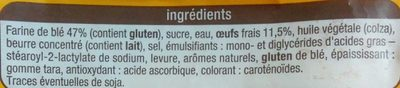 Brioche tranchée aux oeufs frais - Ingredienti - fr