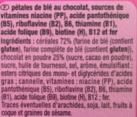 CaoFlakes au chocolat - Ingrédients - fr