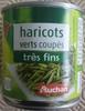 Haricots verts coupés très fins - Produit