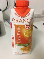 Jus d'orange sans pulpe - Product - fr