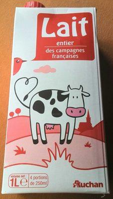 Lait entier des campagnes françaises - Product