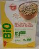 Blé, épeautre, quinoa rouge BIO - Produit