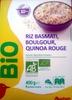 Riz Basmati, Boulgour, Quinoa Rouge - Product