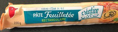 Pâte Feuilletée Rectangulaire - Product