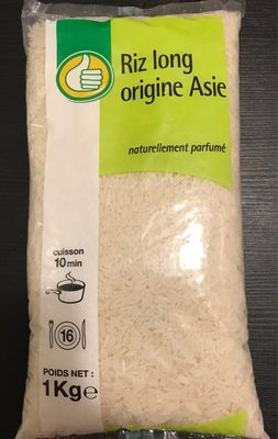 Riz long origine asie - Product - fr