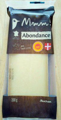 Mmm ! Abondance, au lait cru - Product - fr