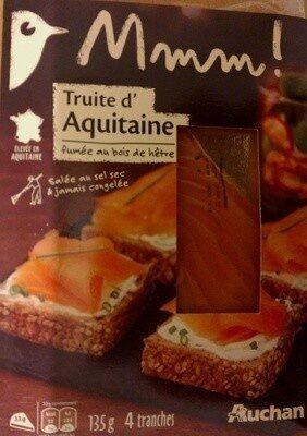 Truite d'aquitaine - Produit - fr