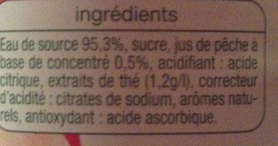 The glacé - Ingrédients