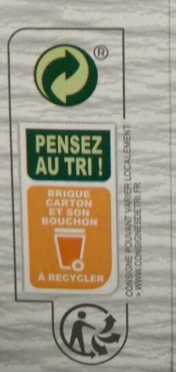 Boisson Soja calcium bio - Instruction de recyclage et/ou informations d'emballage - fr