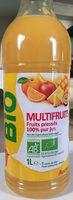 Jus Multifruits Bio - Product - fr