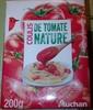 Coulis de tomates nature - Produit