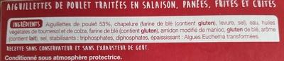 Aiguillettes de poulet - Ingrediënten - fr