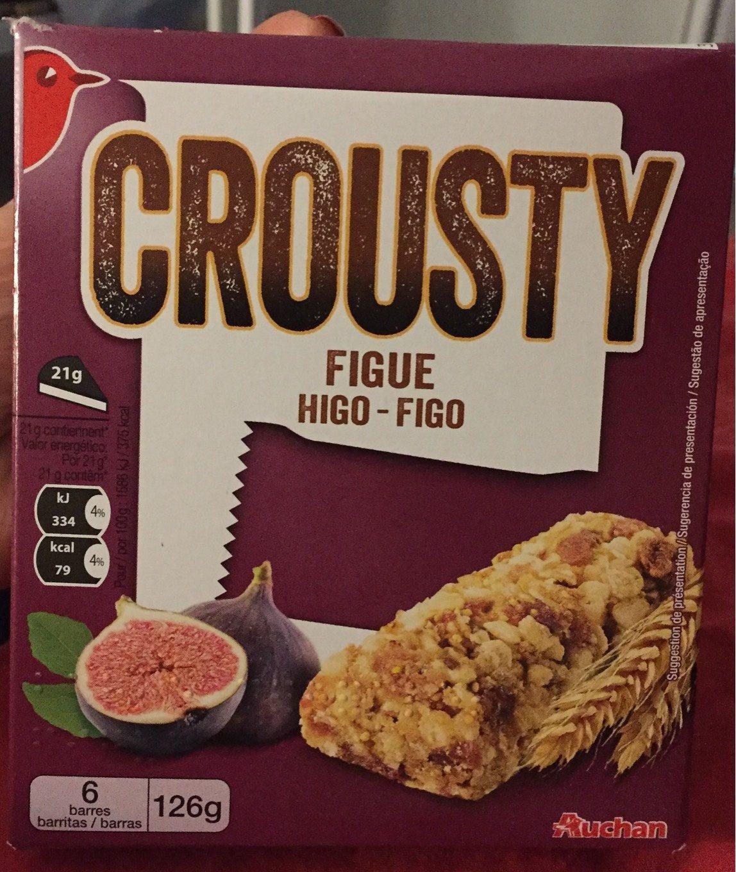 Crousty figue - Produkt - fr