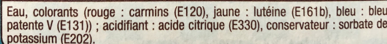 Colorants Alimentaires - Ingredients