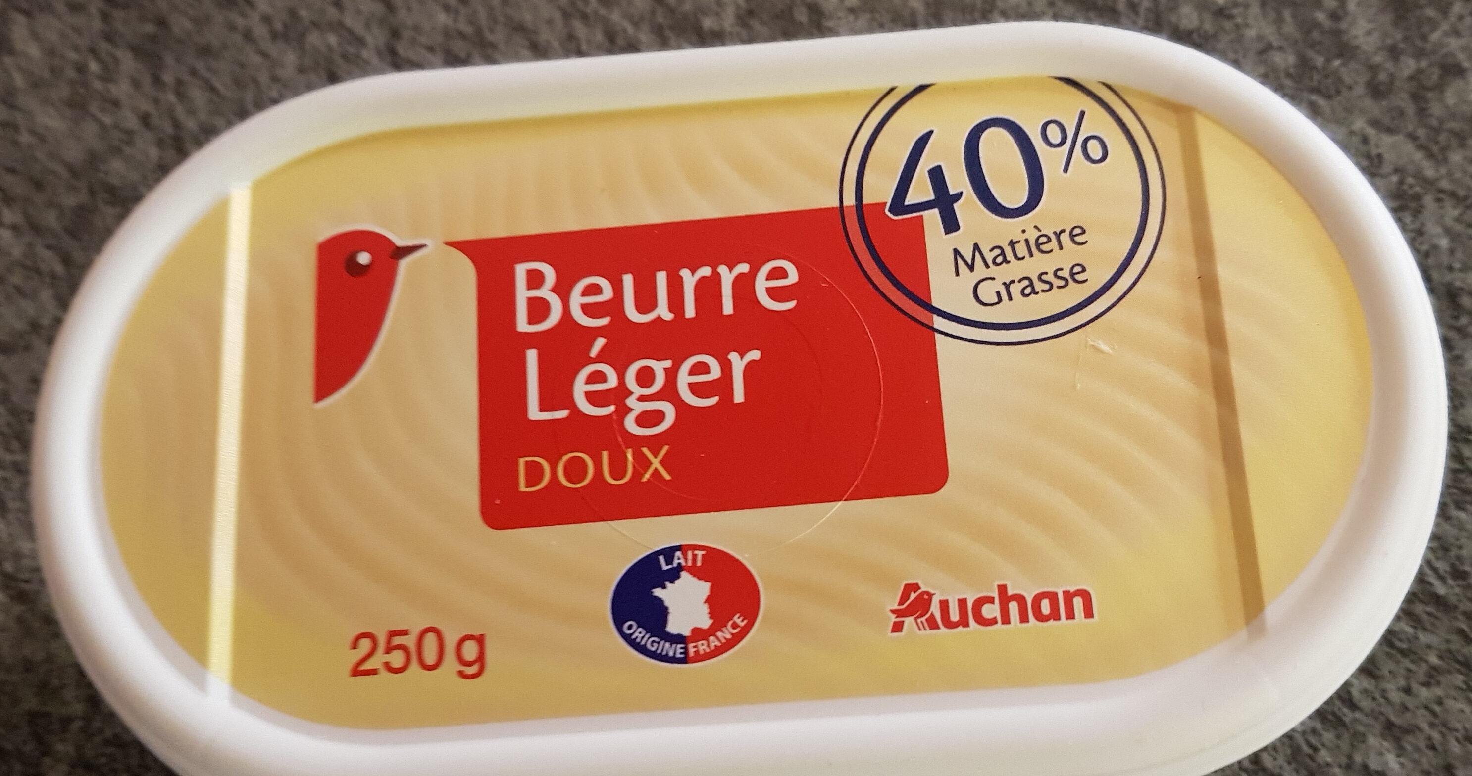 Beurre Doux Léger 40% - Produit - fr