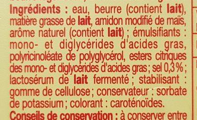 Beurre Doux Léger 40% - Ingrédients - fr