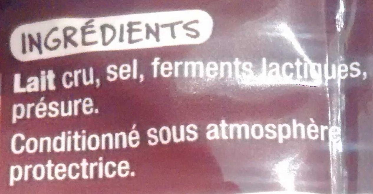 Mmm ! - Emmental au lait cru - Ingrédients - fr