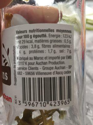 Caprons - Ingrediënten - fr
