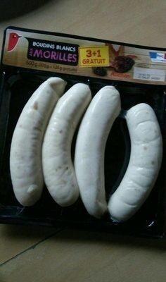 Boudin Blanc aux morilles - Produit - fr