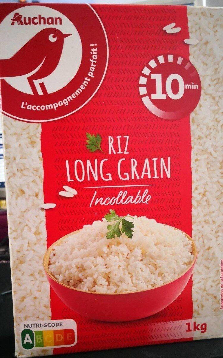 Riz long grain 1kg - Produit - fr