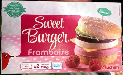 Sweet Burger Framboise - Product