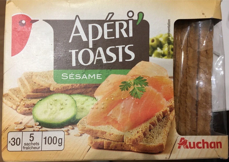Apéri'Toasts - Sésame - Produit
