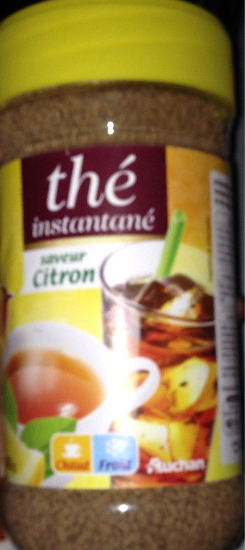 Thé instantané saveur Citron - Product