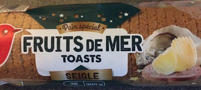Pain special fruits de mer toast - Product