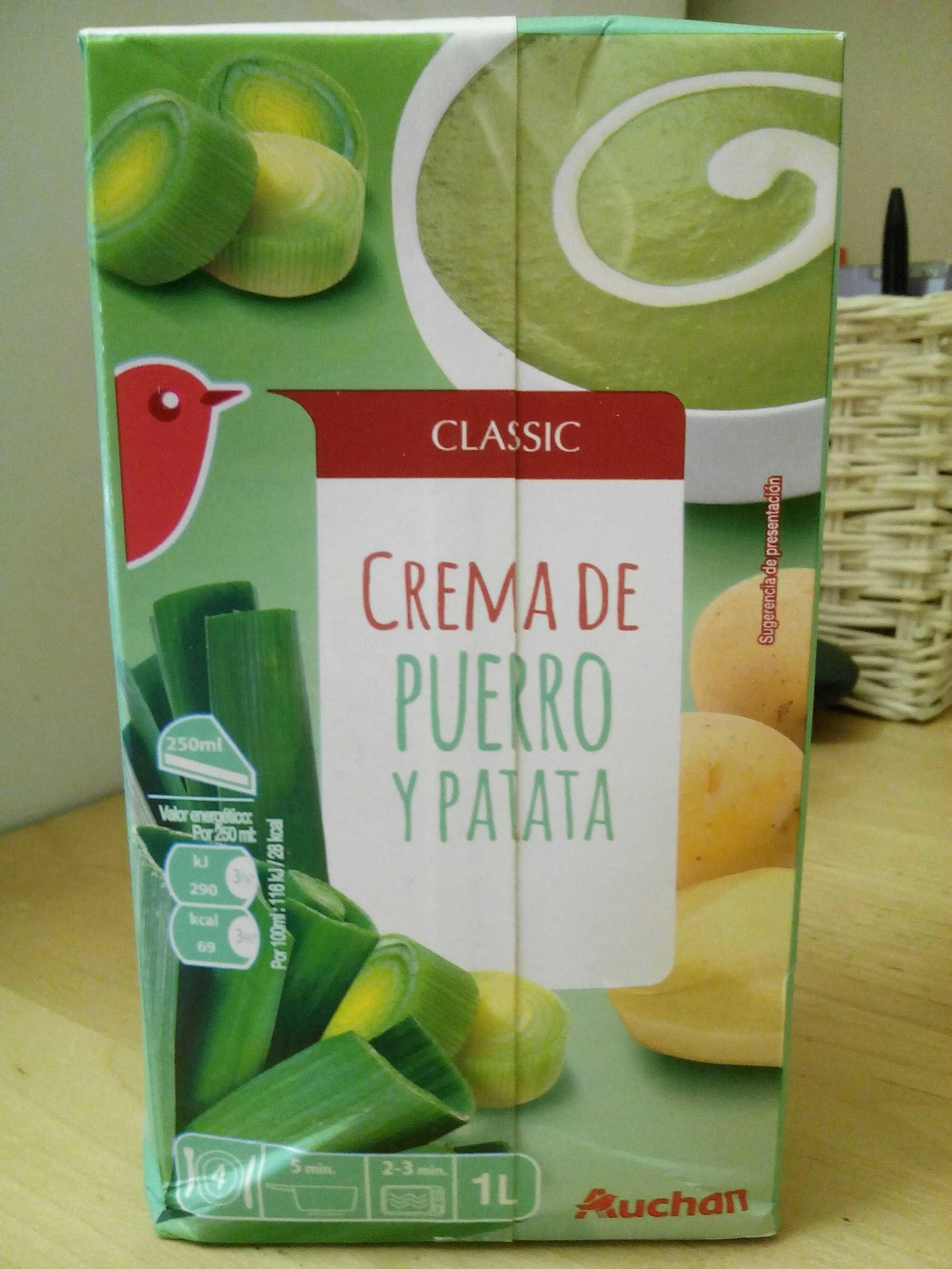 Velouté de poireaux pommes de terre - Product - fr