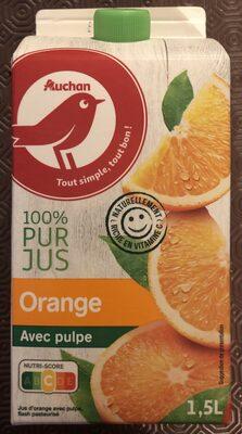 Orange pressée avec pulpe - Produit