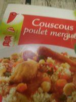 Couscous poulet merguez - Produit - fr