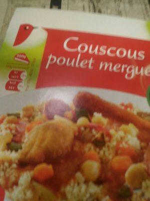 Couscous Poulet Merguez - Produit