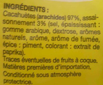 Cacahuètes grillées à sec - Ingrédients - fr