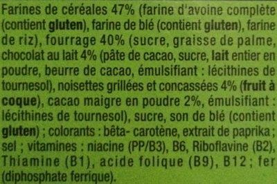 Jumblies - Ingredients - fr