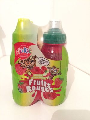 Boisson aux jus de fruits Fruits Rouges - Product