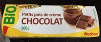 Petits pots de crème chocolat - Produit - fr