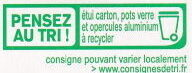 Petits pots de crème chocolat - Instruction de recyclage et/ou informations d'emballage - fr