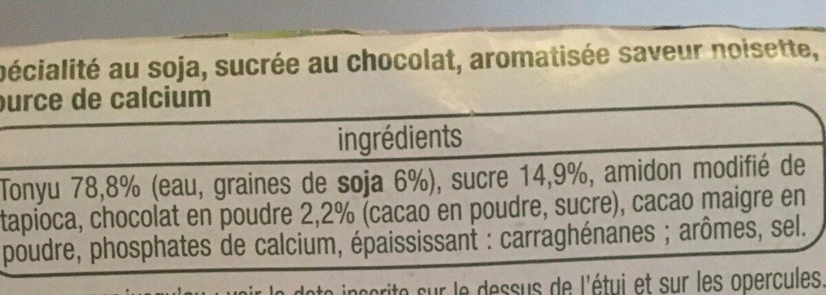 Auchan 400 g (4 100 G) - Ingrédients