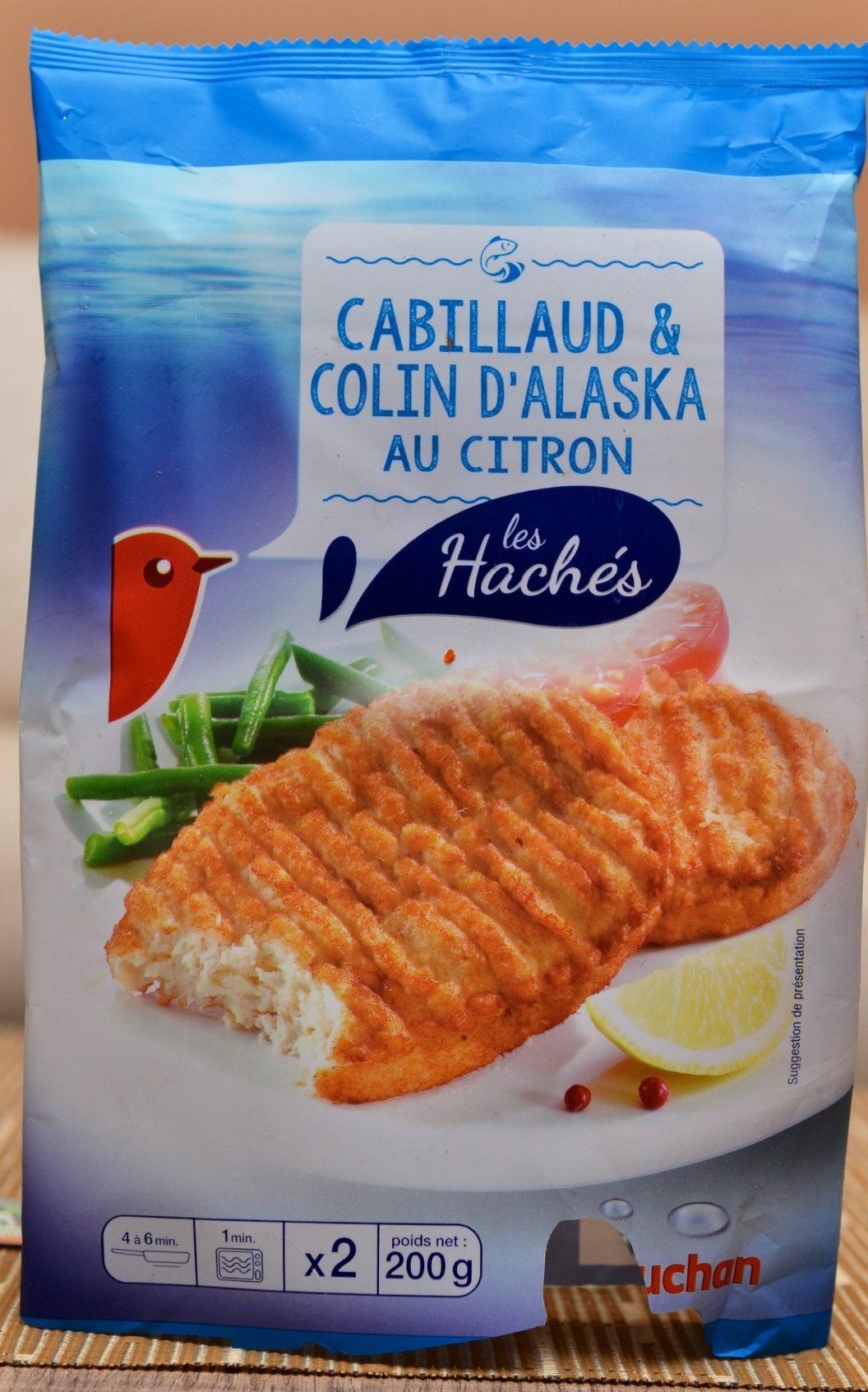 Les Hachés Cabillaud & Colin d'Alaska au Citron - Produit - fr