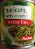 Haricots verts coupés extra fins - Product