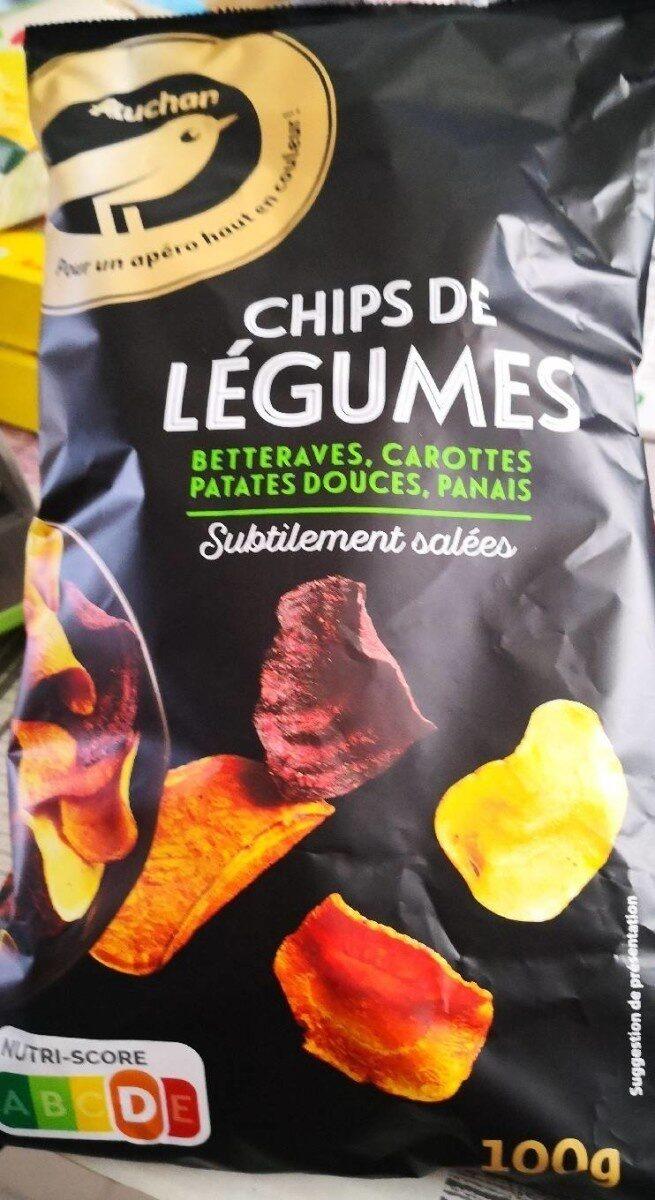 Chips de Légumes betteraves, carottes, patates douces , panais - Prodotto - fr