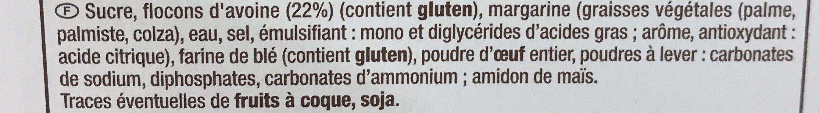 Galettes suedoises aux flocons d'avoine - Ingredientes - fr