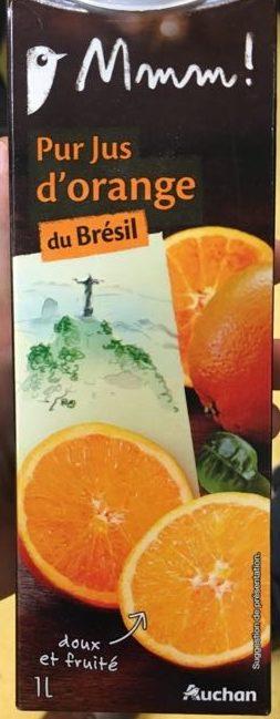 Pur jus d'Orange du Brésil - Produit